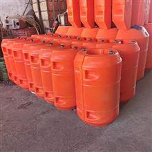 500*800排泥抽沙管道浮筒擺放距離
