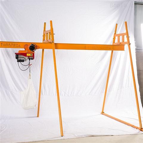 室内外四立柱轨道上料吊机-高层楼房升降机