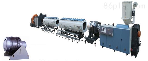 HDPE供水管、燃气管挤出生产线