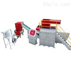 定制型塑料管材撕碎机 PE燃气管材单轴撕碎机
