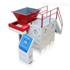 定制型废布专用单轴撕碎机 PET化纤废丝专用撕碎机