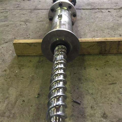 多层金属螺杆机筒