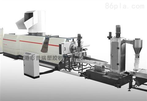 薄膜塑料造粒机,包装膜边角料回收造粒,地膜回收造粒机,塑料再生颗粒机