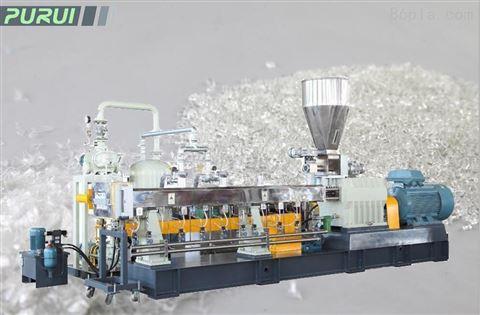 pet瓶片造粒生产线---pet瓶片回收造粒机
