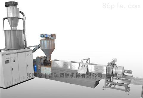 带大料仓的强制喂料造粒机设备-用于喂破碎过的薄膜,超市袋子等