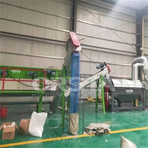 贵州PP空调机壳废料破碎清洗瓶片机