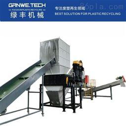 HDPE大蓝桶洗料机化工塑料桶资源化处置线