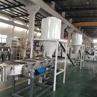 热切造粒65/132双螺杆塑料硬质造粒机