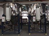 1吨张家港市华德1吨立式pe混合干燥机塑料拌料机烘干颗粒拌色搅拌机