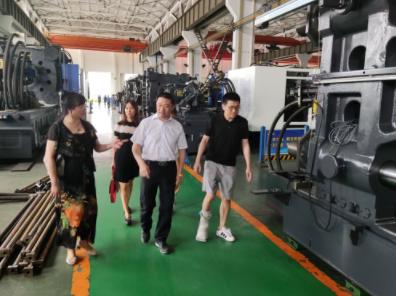宁波市塑机协会秘书处走访企业——宁波市海达塑料机械有限公司