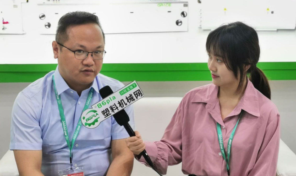 chinaplas 2021:专访江苏格雷斯机械有限公司常务副总经理王华